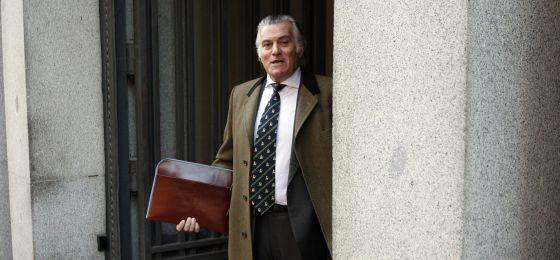 El exterorero del PP Luis Bárcenas.