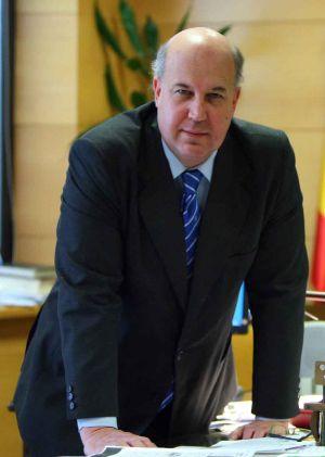 Juan Calparsoro, el pasado viernes en su despacho en Bilbao.