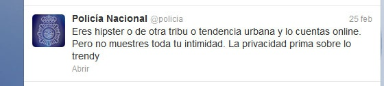 La @policia no es tonta