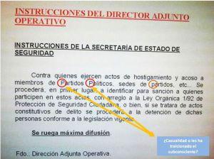 """El SUP considera una """"barbaridad"""" la orden de actuar en los escraches"""
