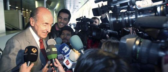 El abogado y padre de la Constitución Miquel Roca, hoy en Barcelona.