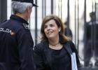 Un juzgado de Madrid investiga el escrache a la vicepresidenta