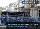 Directo | Diez detenidos tras los incidentes del 25-A junto al Congreso