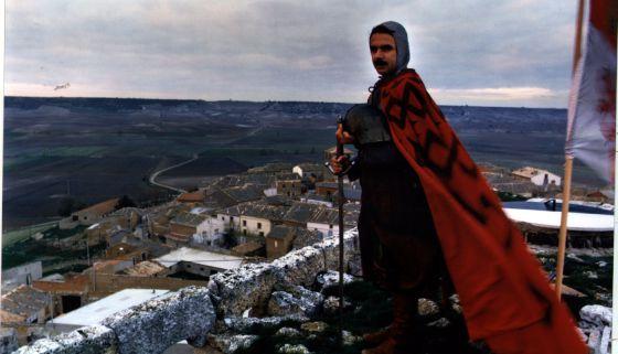 José María Aznar vestido de Cid Campeador, en 1987.