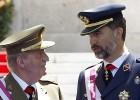 """El Rey muestra su """"gratitud"""" a las Fuerzas Armadas"""