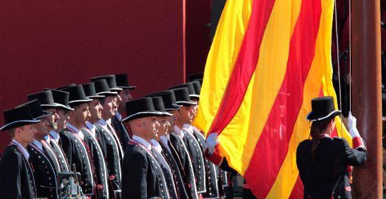 Acto institucional con motivo de la Diada de Cataluña de 2010.