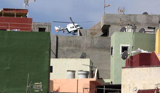 Vista del barrio de El Príncipe de Ceuta.