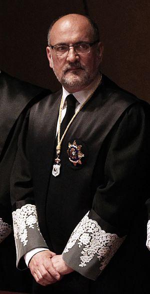 Francisco Pérez de los Cobos, presidente del Tribunal Constitucional.