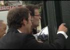Rajoy visita el lugar de la tragedia