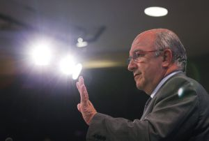 Joaquín Almunia, vicepresidente europeo y comisario de la Competencia, en una imagen de 2010.