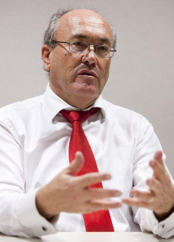 Jean-Claude Piris, en Bruselas, durante una entrevista en 2011.