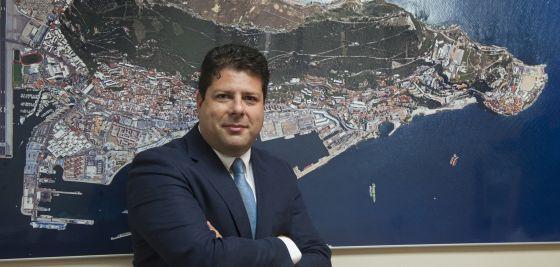 El ministro principal de Gibraltar, Fabián Picardo.
