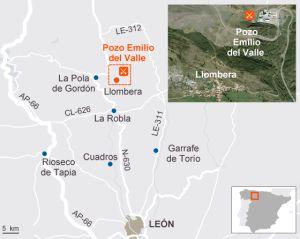 Seis muertos por un escape de gas en una mina de León