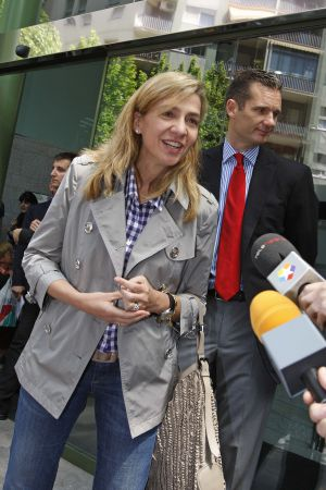 Princess Cristina and her husband, Iñaki Urdangarin.