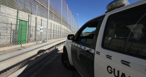 El sector A-13 de la valla de Melilla por donde se efectúan la mayoría de las expulsiones a Marruecos a escondidas.