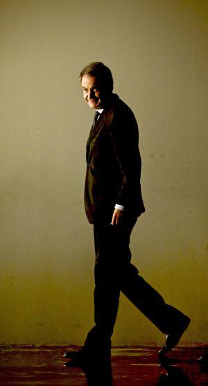 Zapatero, a su llegada a la presentación del libro.