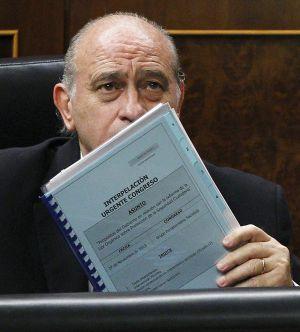 Jorge Fernández, durante el debate.