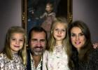 Los príncipes felicitan la Navidad desde El Prado