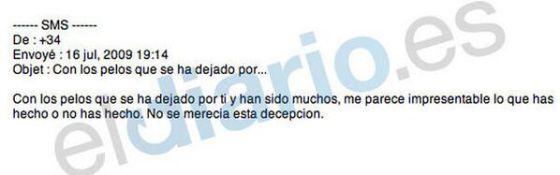 """El hijo de Aznar a Blesa: """"Me parece impresentable lo que has hecho"""""""