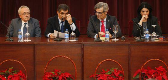 Los jueces decanos celebraron su reunión anual en Sevilla, el 16 de diciembre.