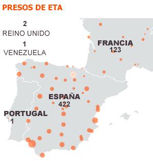 El colectivo de presos de ETA reconoce el daño causado y la legalidad penitenciaria