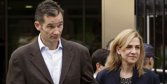 Princess Cristina and her husband Iñaki Urdangarin.