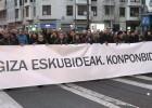 Decenas de miles de personas apoyan en Bilbao a los presos etarras