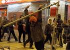 Los disturbios vuelven por tercer día a la 'zona cero' de Burgos