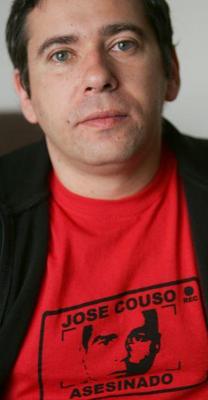 Javier Couso en una entrevista el 13 de marzo de 2008