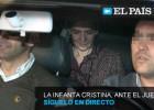 Así te hemos contado en directo el interrogatorio de la Infanta Cristina