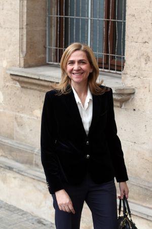 La infanta Cristina llega a los juzgados de Palma.