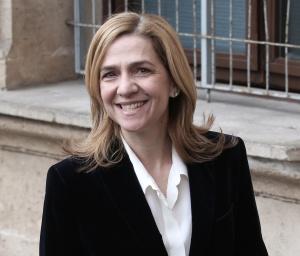 La infanta Cristina a la entrada de los juzgados de Palma de Mallorca.