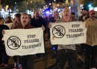 Movilizaciones en Barcelona por el precio del transporte