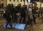 El jefe de los antidisturbios de Madrid muestra su sorpresa