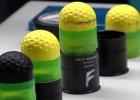 Balas viscoelásticas en lugar de pelotas de goma