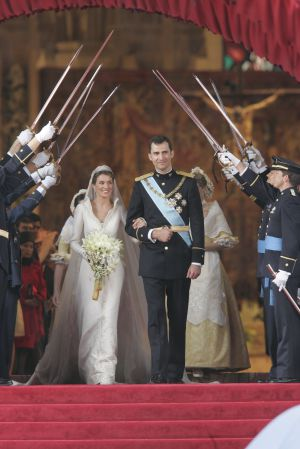 Prince Felipe and Princess Letizia's wedding on May 22, 2004.