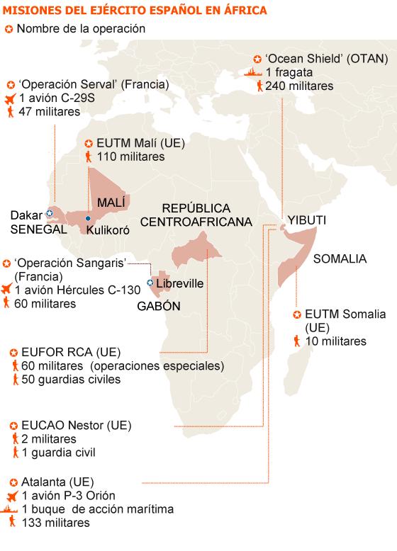 Yibuti / Djibouti: Tres militares de España heridos en un atentado. 1401014516_472685_1401041559_sumario_normal