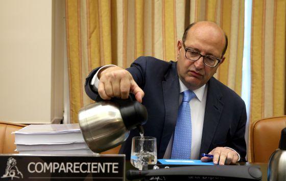 Ramón Álvarez de Miranda, presidente del Tribunal de Cuentas.