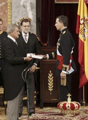 Felipe VI jura la Constitución.