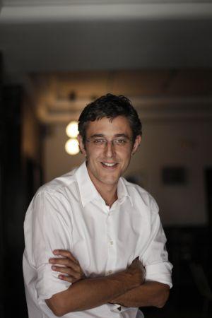 Eduardo Madina, este sábado en Madrid.