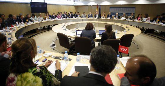 Reunión del Consejo de Política Fiscal y Financiera el pasado mes de junio en el Ministerio de Hacienda.