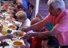 Palestinos españoles hacen el 'Iftar'