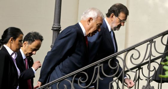 Mariano Rajoy and Foreign Minister José Manuel García-Margallo have discussed several referendum scenarios.