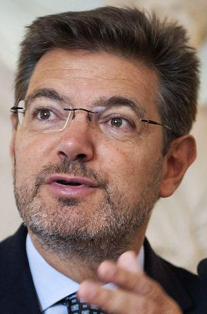 El futuro ministro de Justicia, Rafael Catalá, el pasado mes de junio.