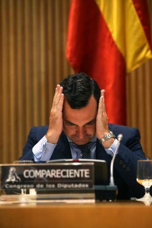 González-Echenique, en su comparecencia en la Comisión de Control Parlamentario de RTVE.