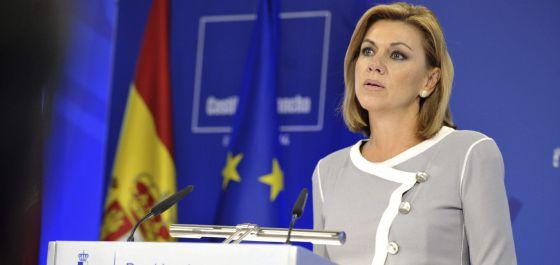 La presidenta de Castilla-La Mancha, María Dolores de Cospedal.
