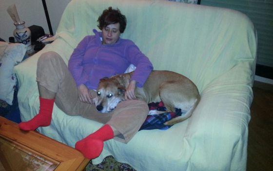 La enfermera infectada, Teresa R. R., en una foto subida a Facebook.