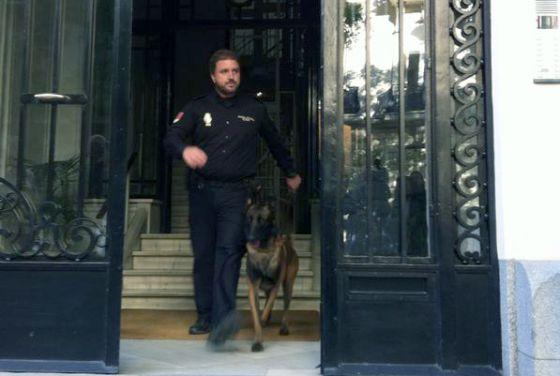 Registro en la casa de Luis Iglesias, socio de Oleguer Pujol.