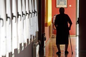 Residencia de ancianos en la Comunidad de Madrid.