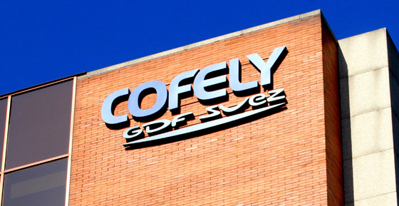 Fachada de la sede de Cofely en Madrid.